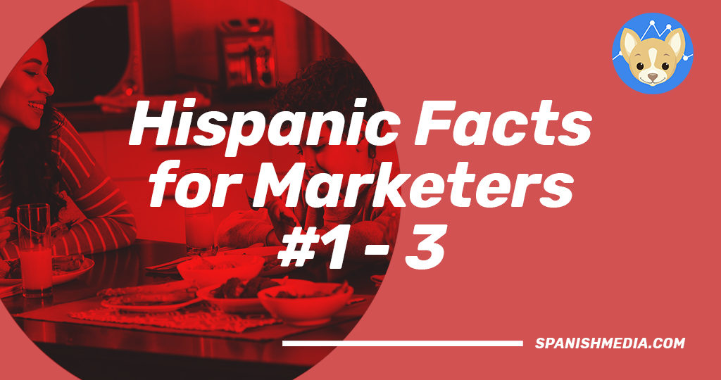 Hispanic Facts for Marketers 1 to 3
